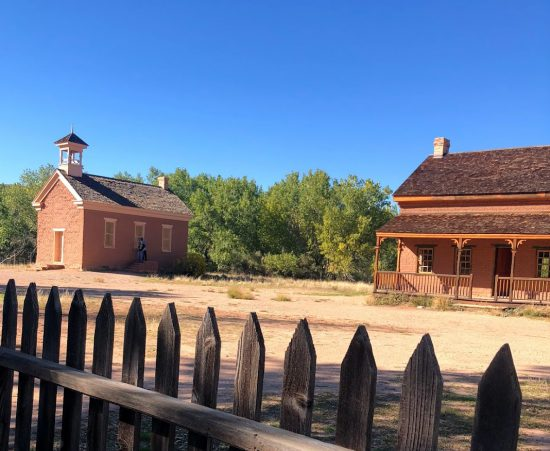 Visiting our first ghost town in Grafton, UT